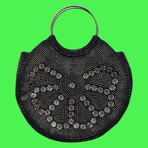 Lotus Studded Vintage Bag